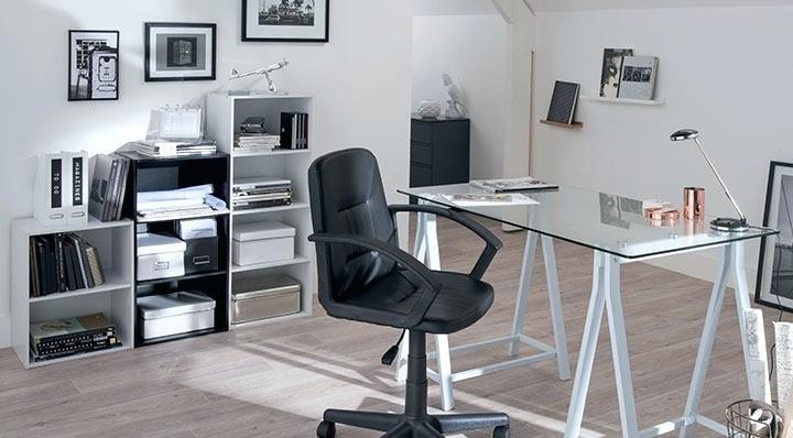 comment am nager son bureau comme la maison. Black Bedroom Furniture Sets. Home Design Ideas